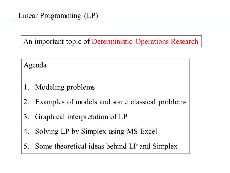 Blending Problem: Modeling…..Step 3. The constraints...