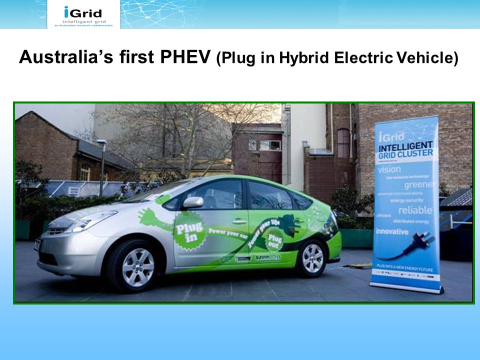 Australia's first PHEV (Plug in Hybrid Electric Vehicle)