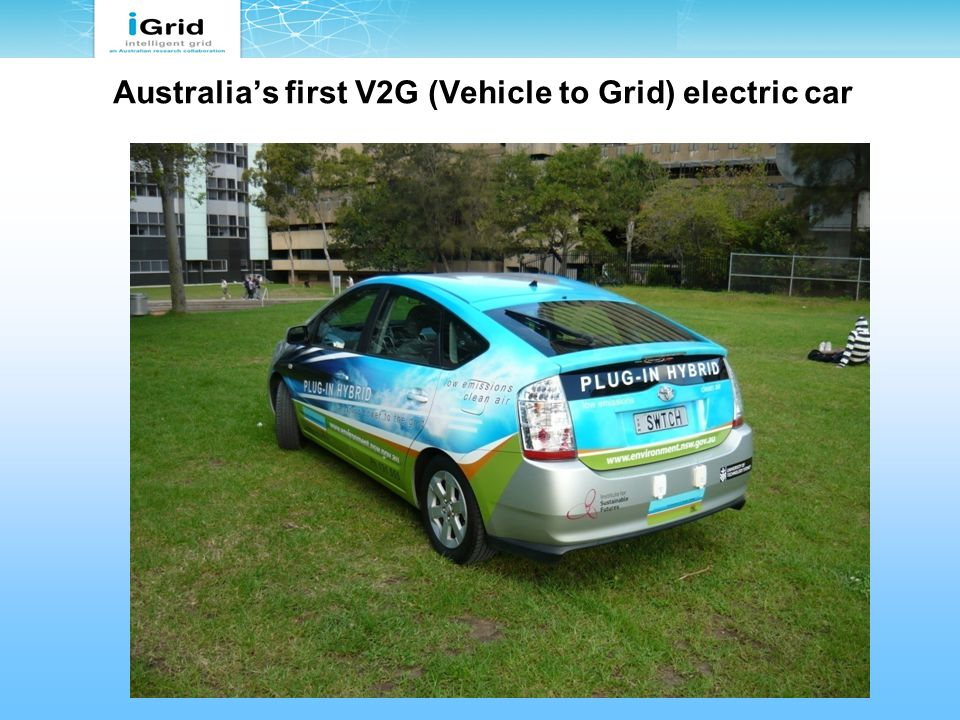 Australia's first V2G (Vehicle to Grid) electric car