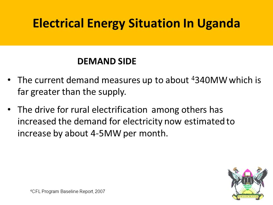 Approximately 2% of rural households are electrified.