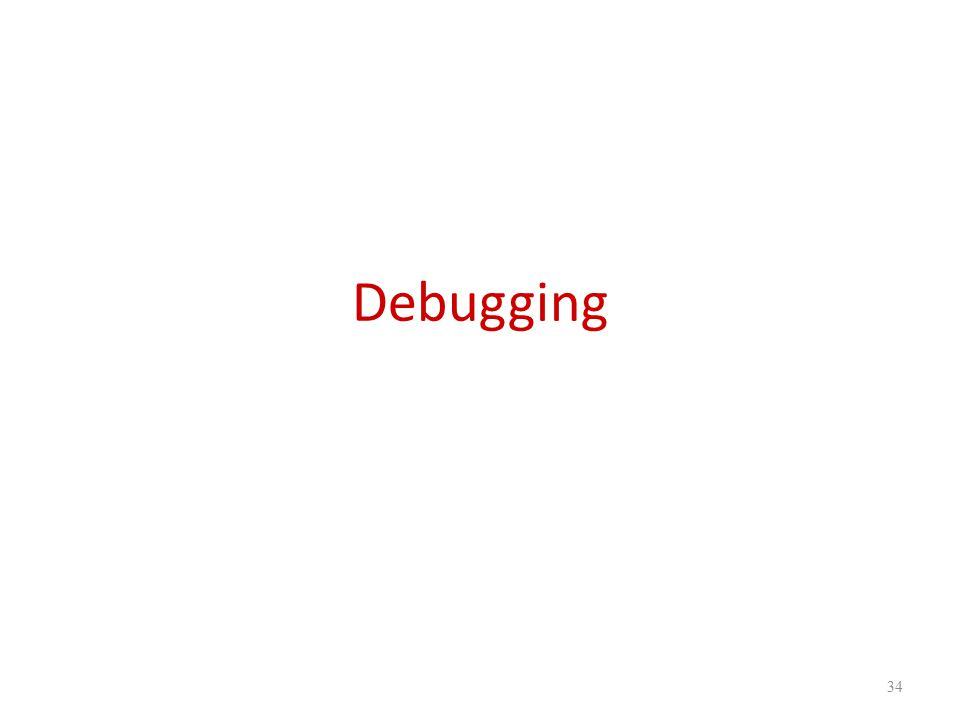 Debugging 34