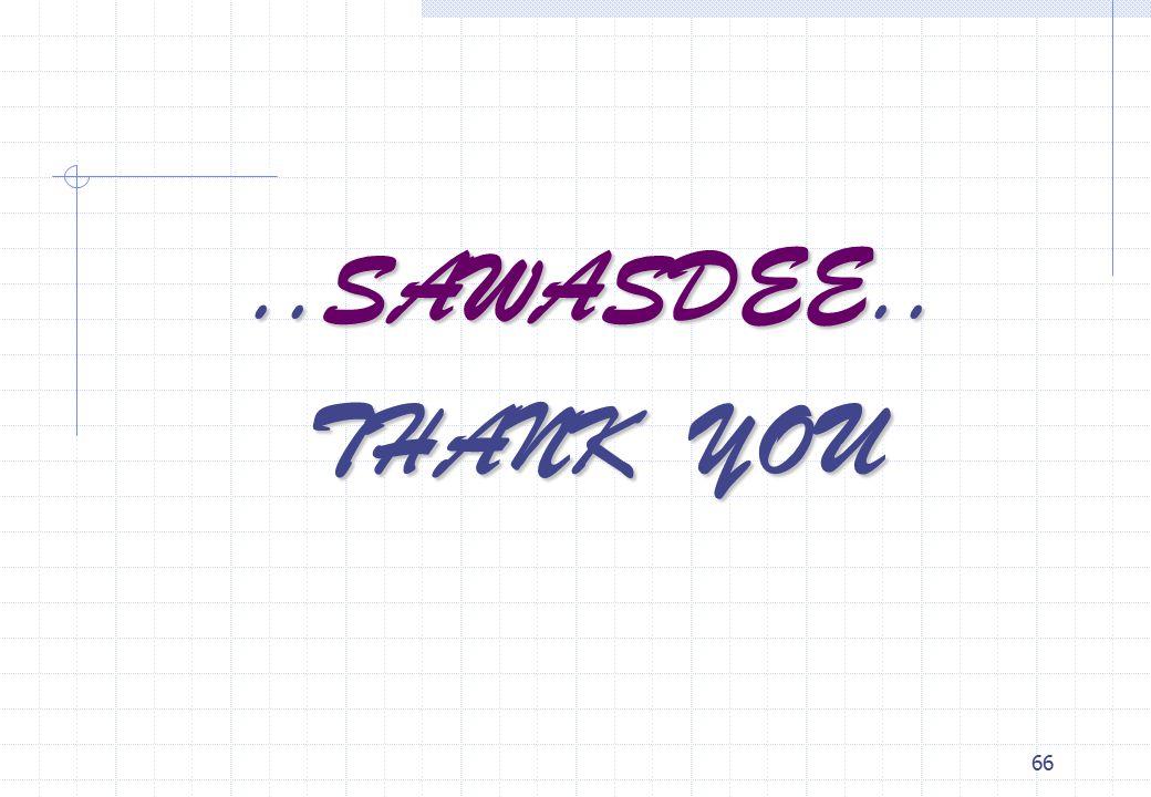 66..SAWASDEE.. THANK YOU