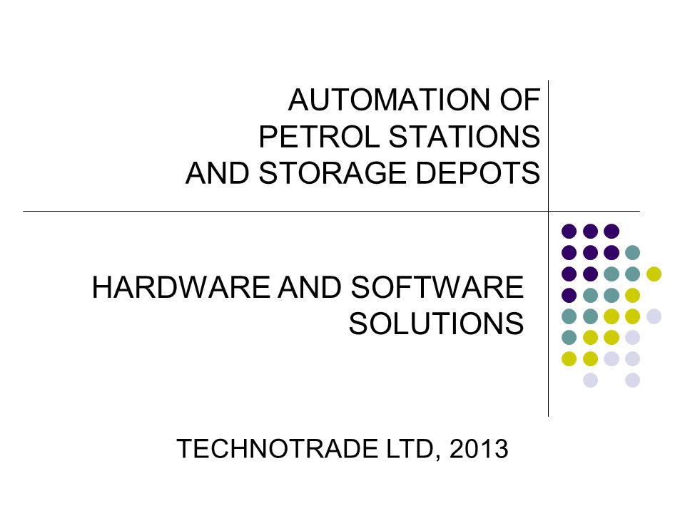 AUTOMATION OF PETROL STATIONS AND STORAGE DEPOTS - SOFTWARE SOLUTIONS NaftaPOS software.