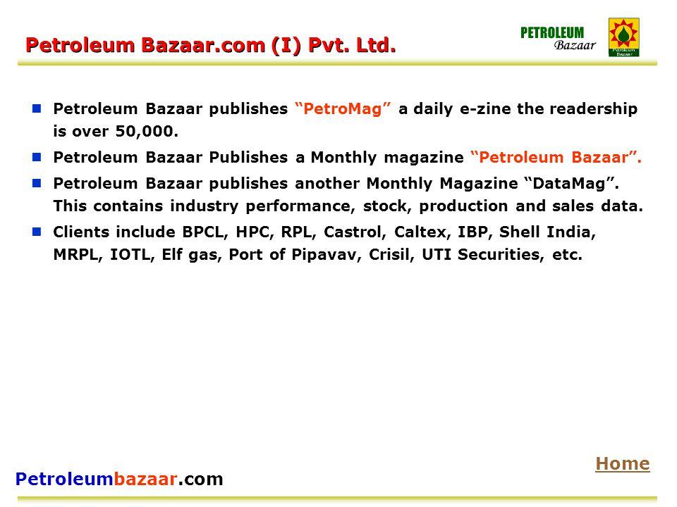 Petroleumbazaar.com Petroleum Bazaar.com (I) Pvt. Ltd.