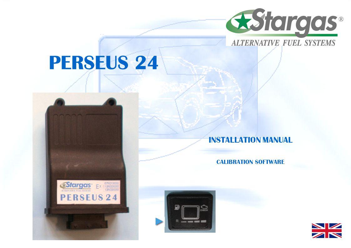 PERSEUS 24 INSTALLATION MANUAL CALIBRATION SOFTWARE