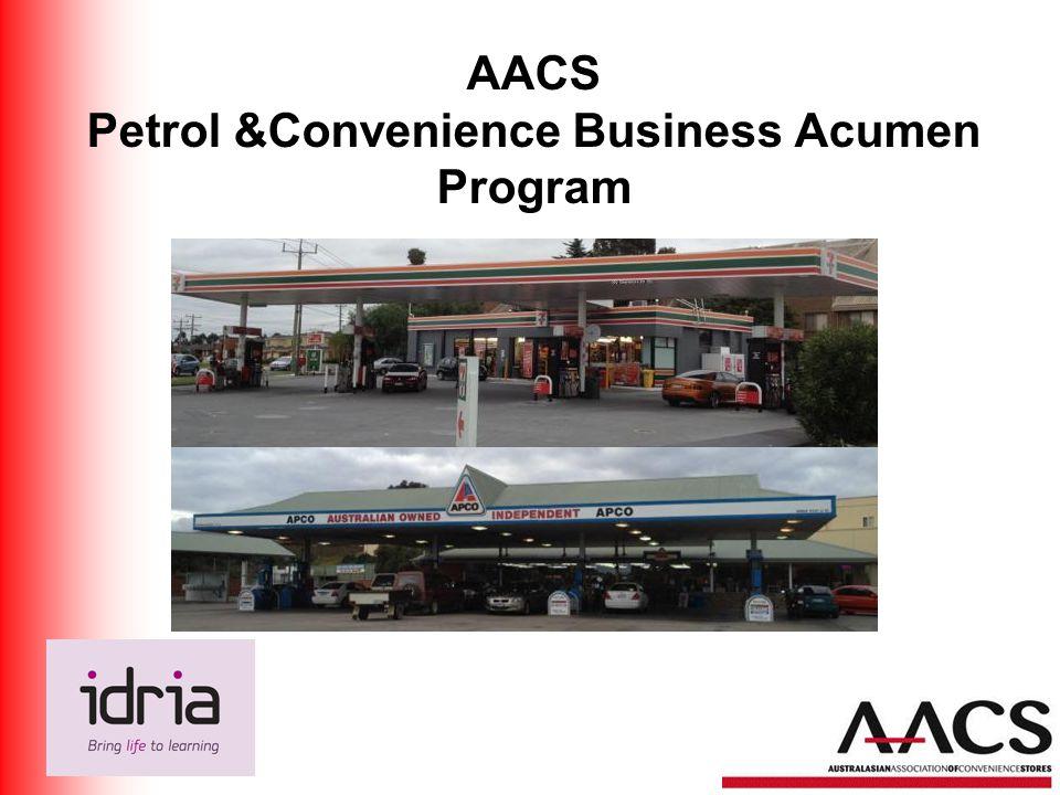 AACS Petrol &Convenience Business Acumen Program