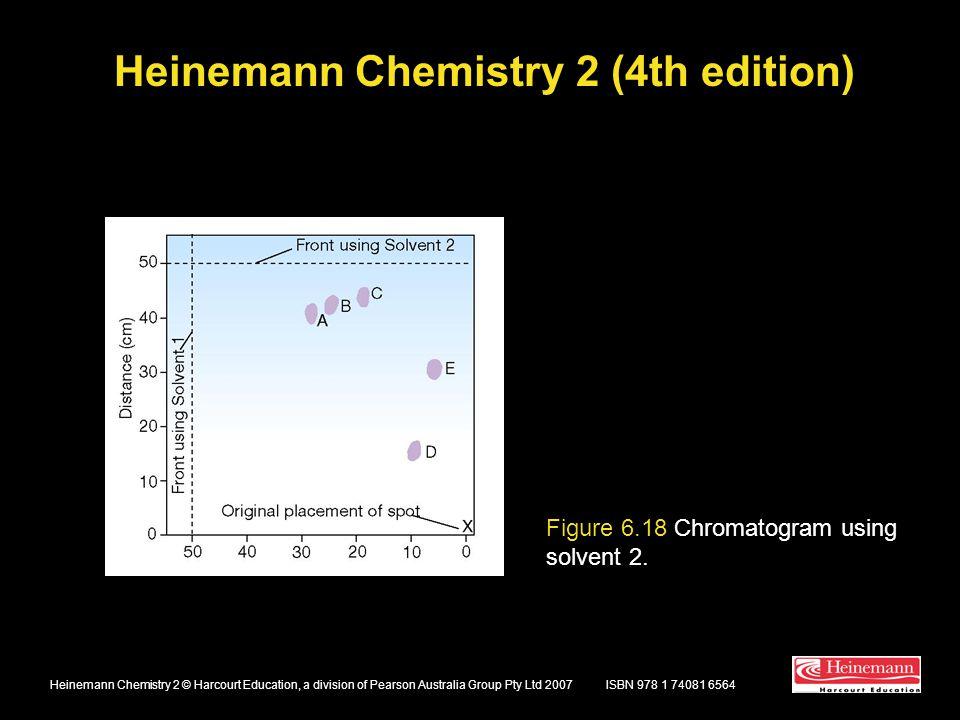 Heinemann Chemistry 2 (4th edition) ISBN 978 1 74081 6564Heinemann Chemistry 2 © Harcourt Education, a division of Pearson Australia Group Pty Ltd 200
