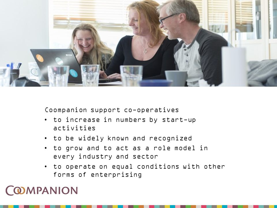 Our new campaign Generation Cooperation becomes a statement, strongly linked to the co-operative principles.