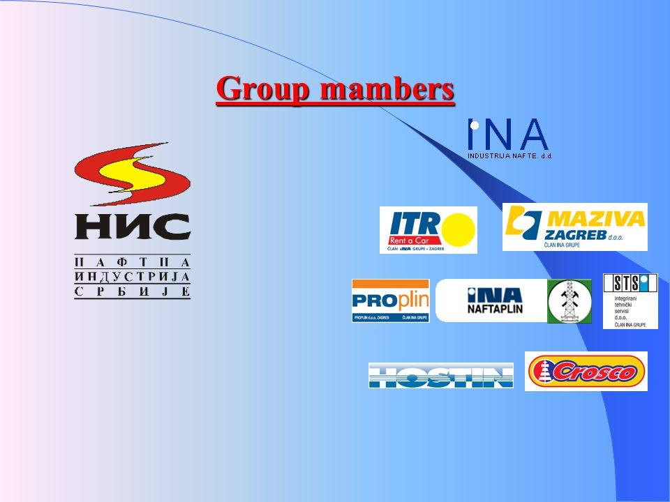 Group mambers