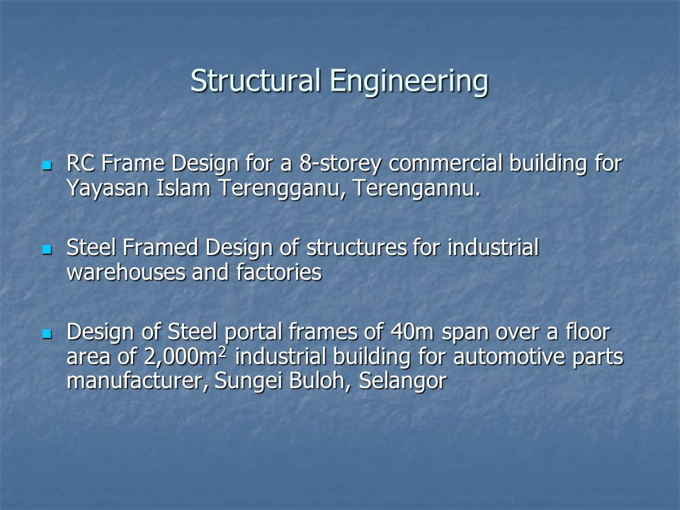 Structural Engineering RC Frame Design for a 8-storey commercial building for Yayasan Islam Terengganu, Terengannu.