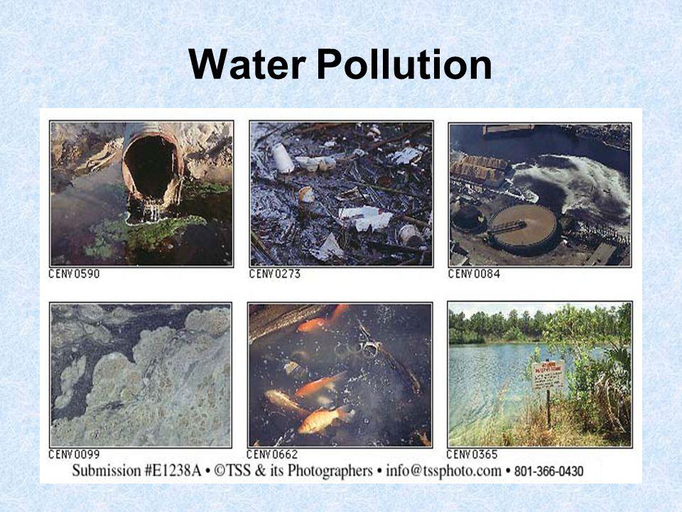 Oil Refineries Sewage water