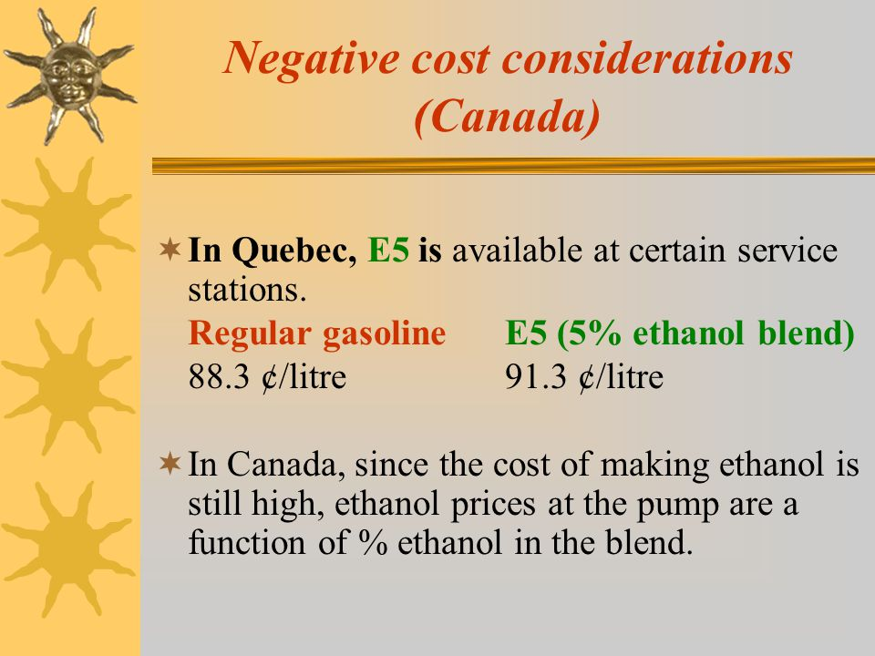 Negative cost considerations to consumers (Fuel Economy Guide 2004, U.S.