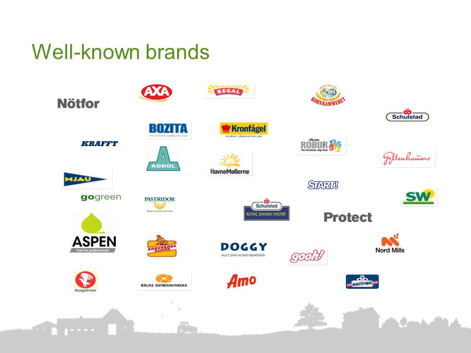 Well-known brands