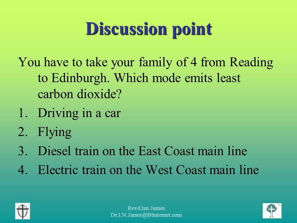 Revd Ian James Dr.I.N.James@Btinternet.com Motor transport - Personal transport