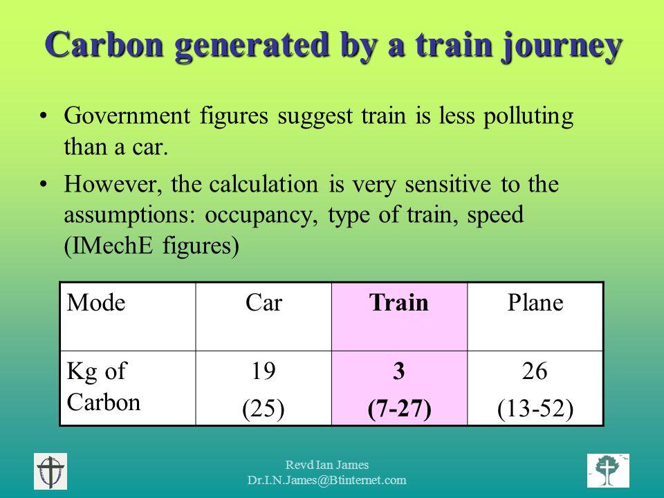 Revd Ian James Dr.I.N.James@Btinternet.com Development of rail technology Internationally, rail vehicles are becoming more efficient.