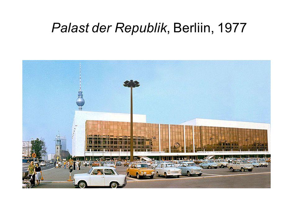 Palast der Republik, Berliin, 1977