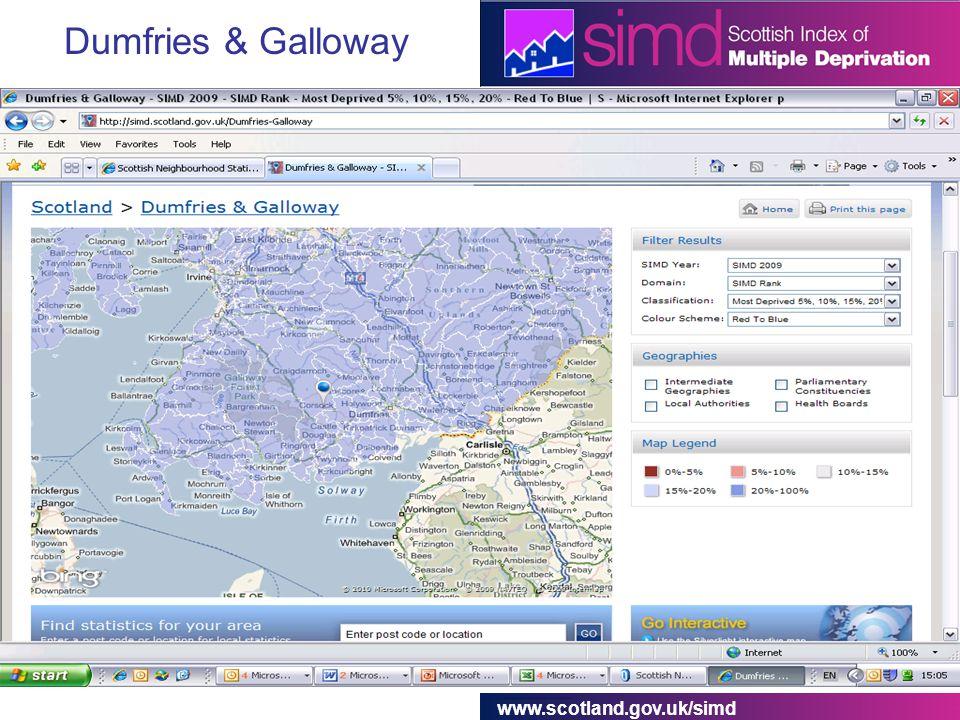 www.scotland.gov.uk/simd Dumfries & Galloway