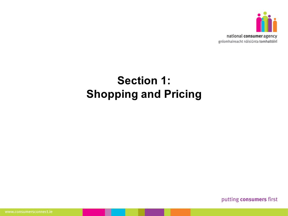 5 Making Complaints Section 1: Shopping and Pricing