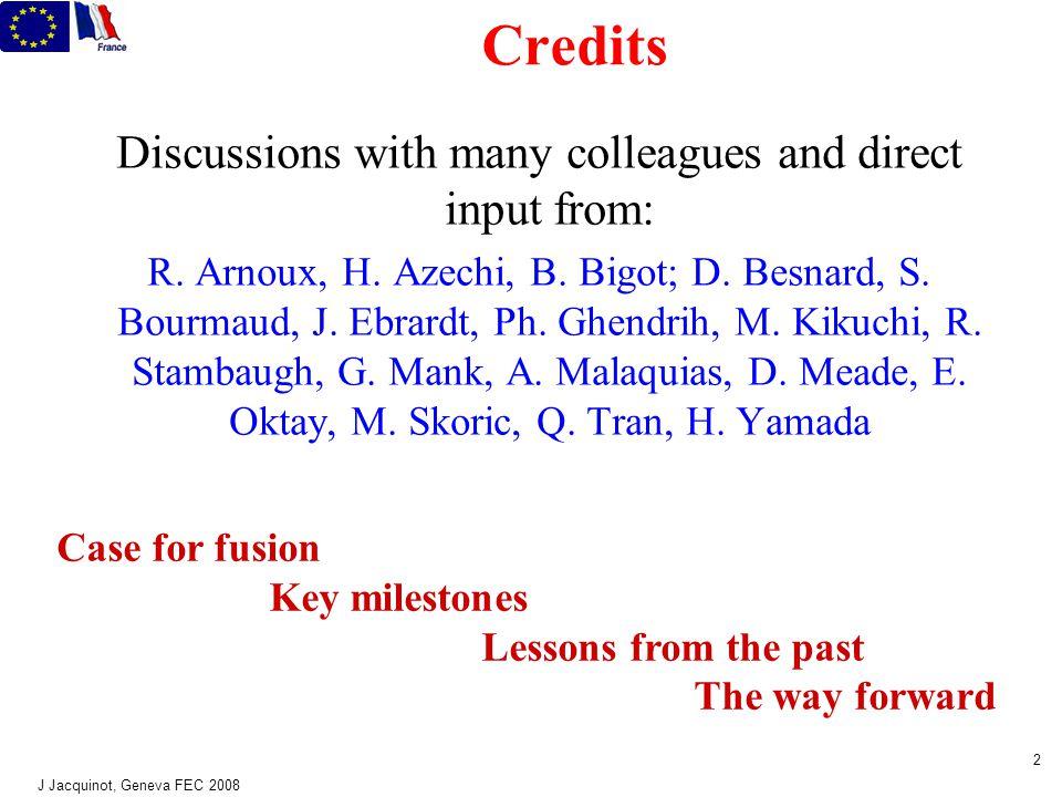 50y legacy: International collab.