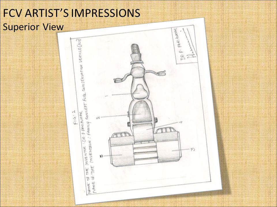 FCV ARTIST'S IMPRESSIONS Superior View