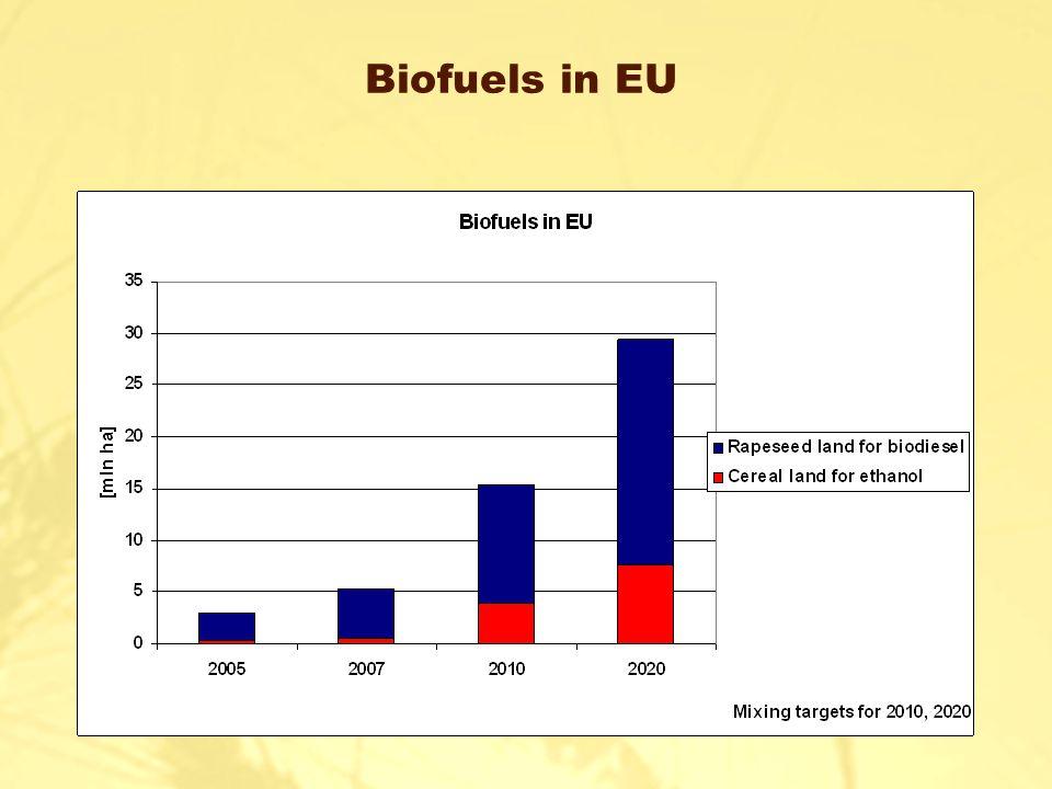 Biofuels in EU