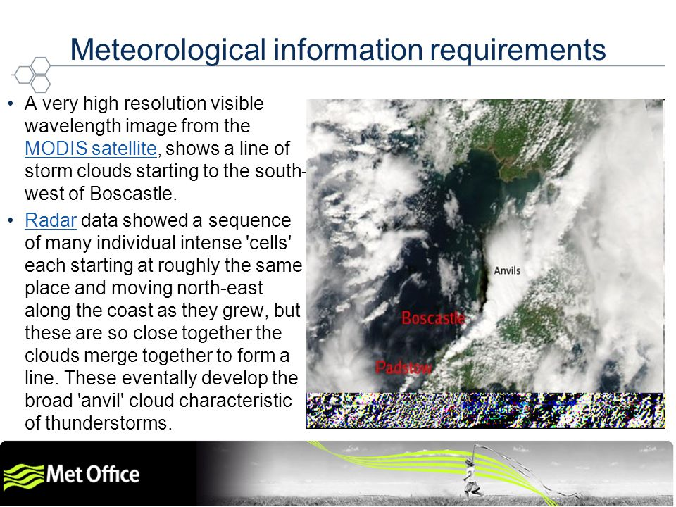 Helping the World to Communicate Geographically Copyright © 2009 Open Geospatial Consortium Meteorological information requirements A very high resolu