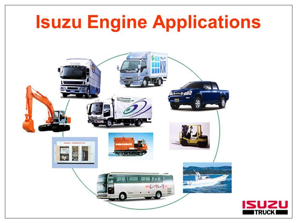 Isuzu Engine Applications
