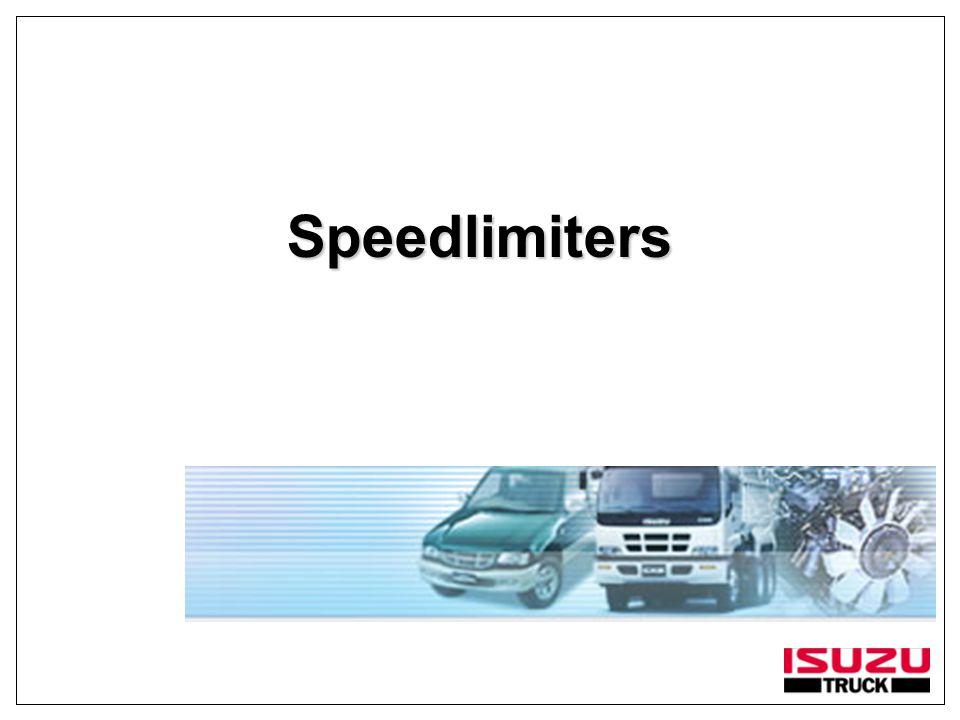 Speedlimiters