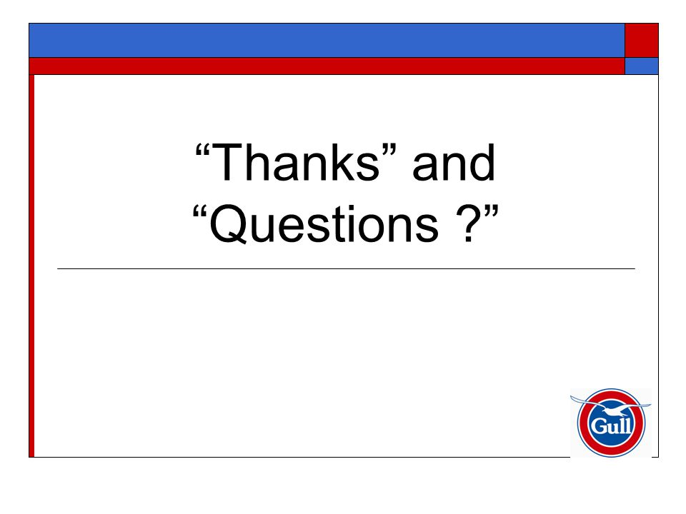 """""""Thanks"""" and """"Questions ?"""""""