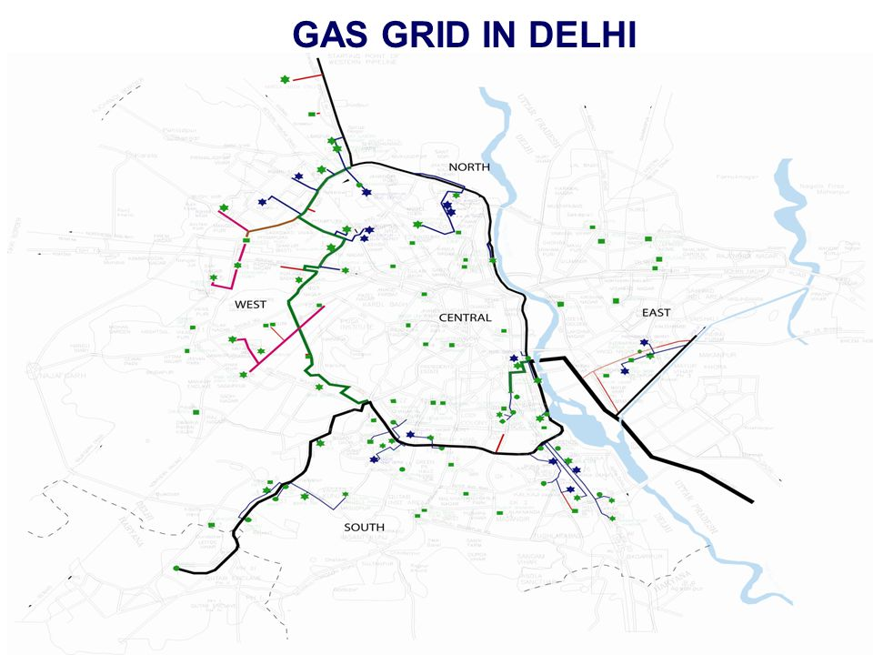 GAS GRID IN DELHI