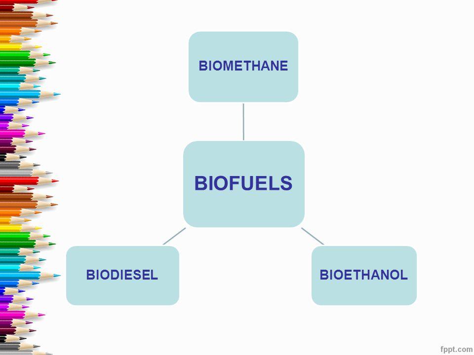 BIOFUELS BIOMETHANE BIOETHANOLBIODIESEL