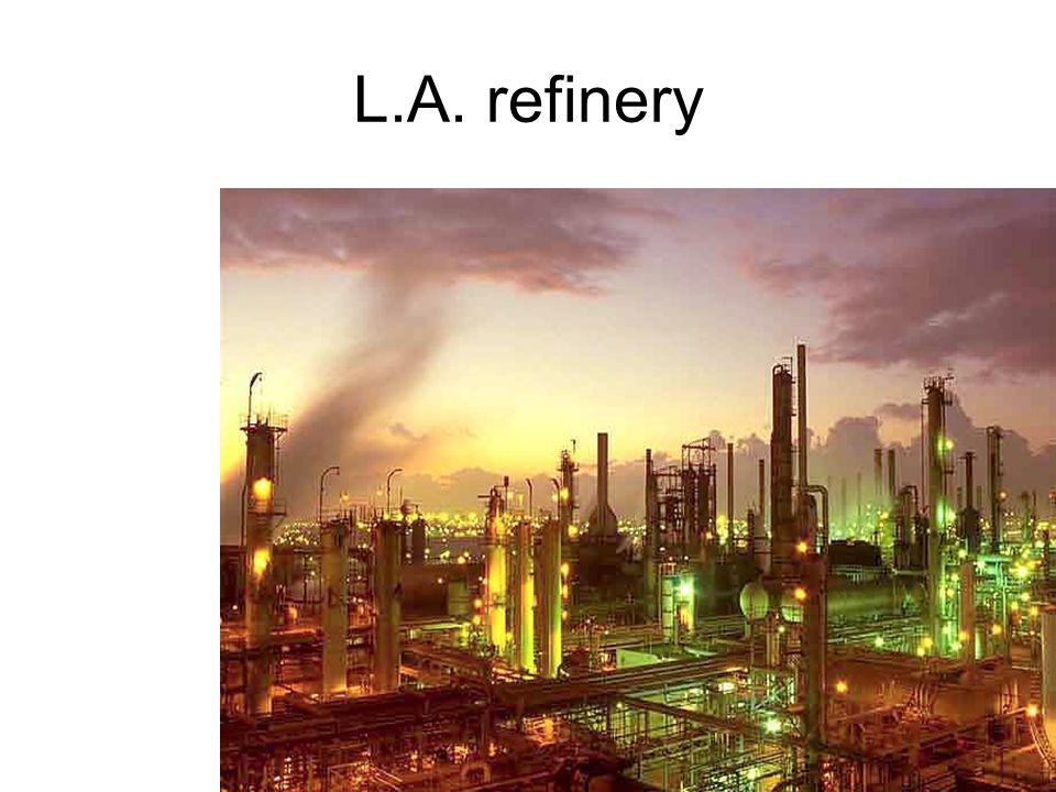 L.A. refinery