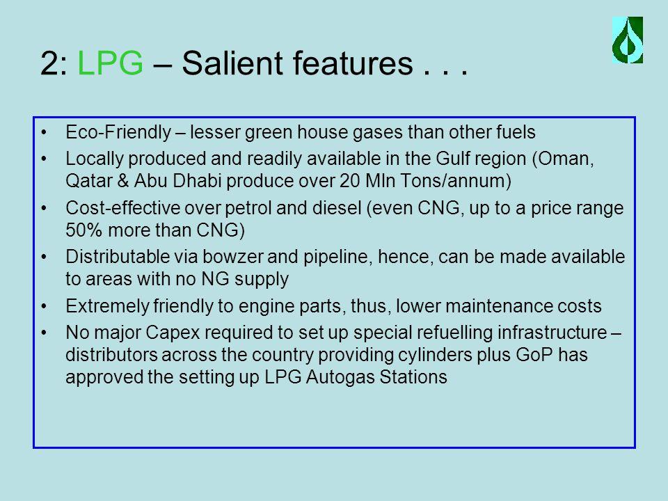 2: LPG – Salient features...
