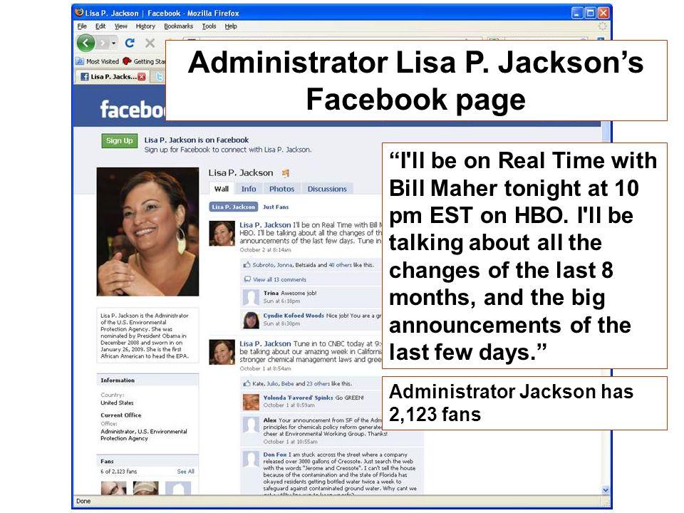 Administrator Lisa P.