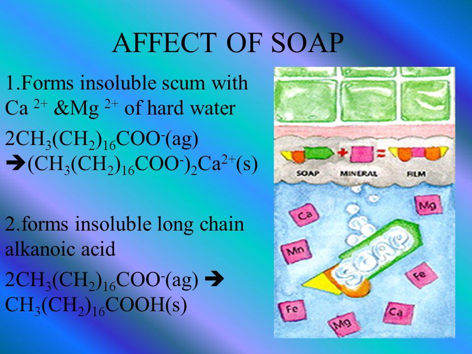 Common soap (hard soap) e.g.