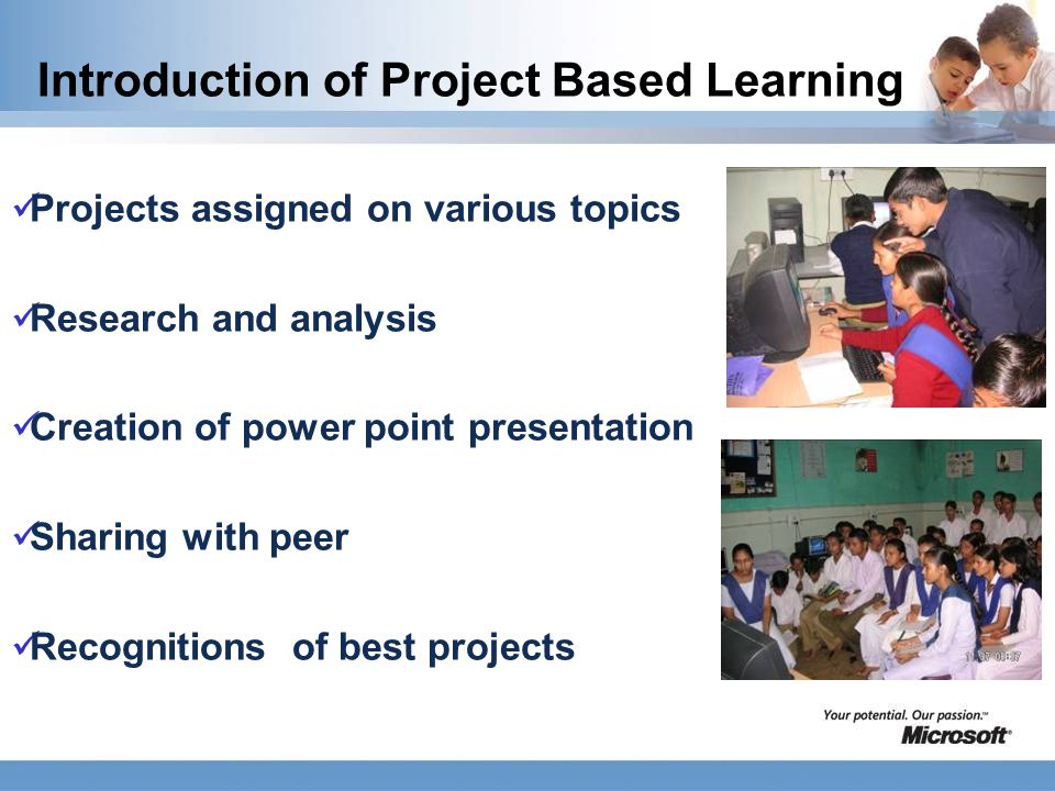 Observation Better understanding of concept Higher attendance Desire to develop e-content and project