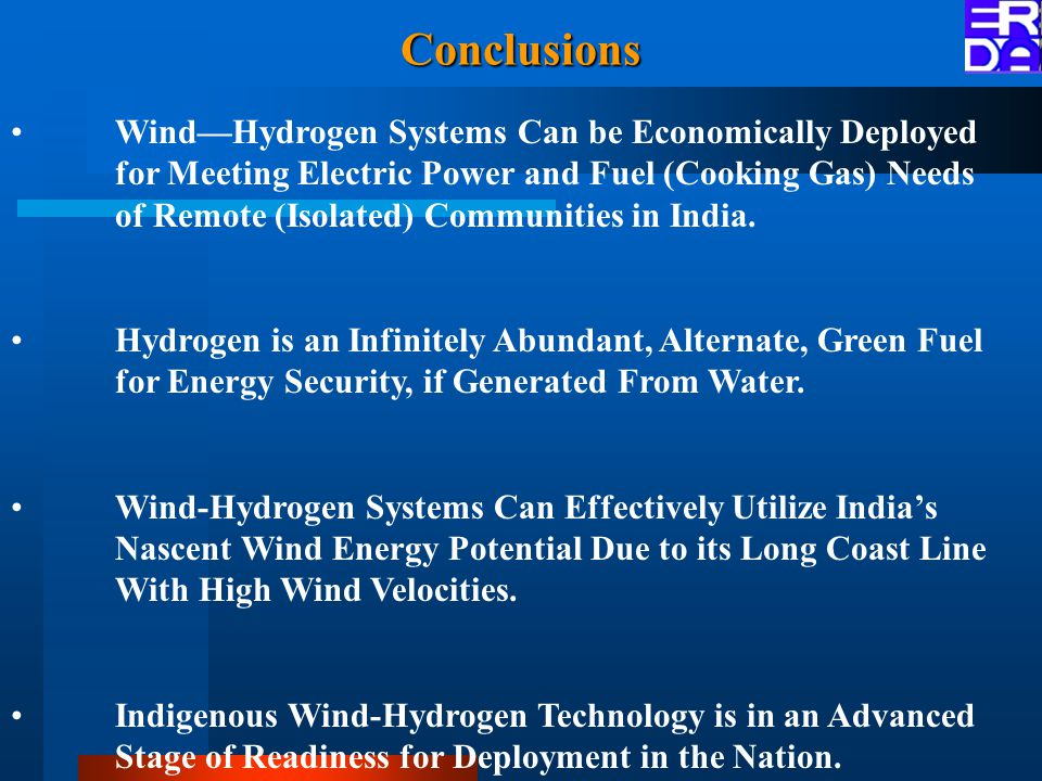 Wind—Hydrogen Systems Can be Economically Deployed for Meeting Electric Power and Fuel (Cooking Gas) Needs of Remote (Isolated) Communities in India.
