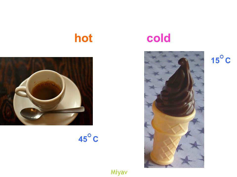 Miyav hotcold 45 O C 15 O C