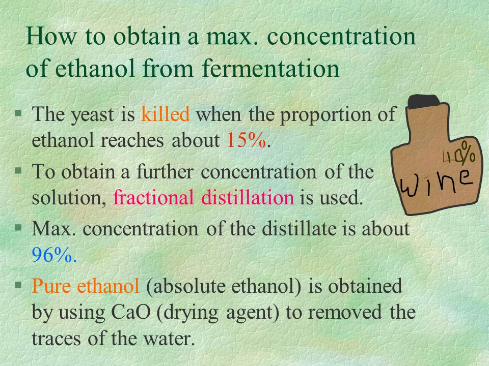 Fermentation of glucose in laboratory Solution of glucose with yeast Lime water CO 2