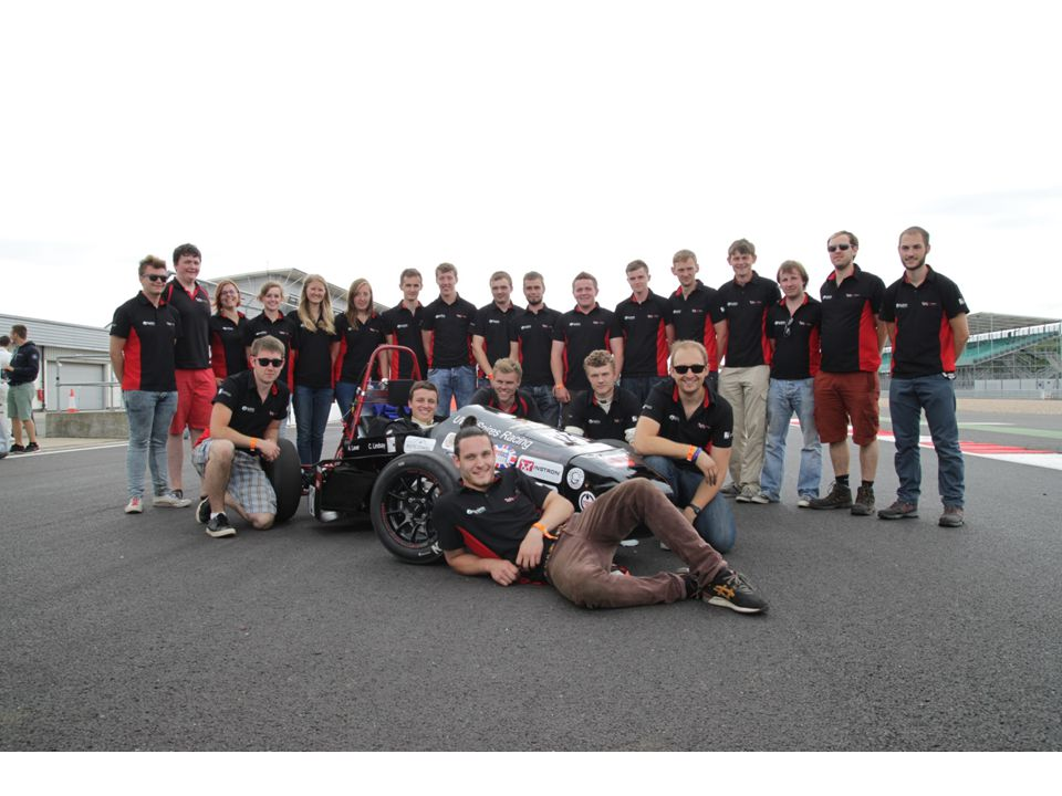 Aims for this years car Reliable & simple car Compete in all dynamic events Most improved class 1 team
