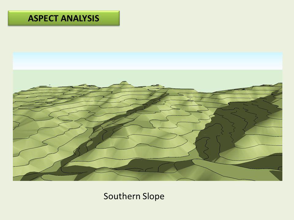 ASPECT ANALYSIS Southern Slope