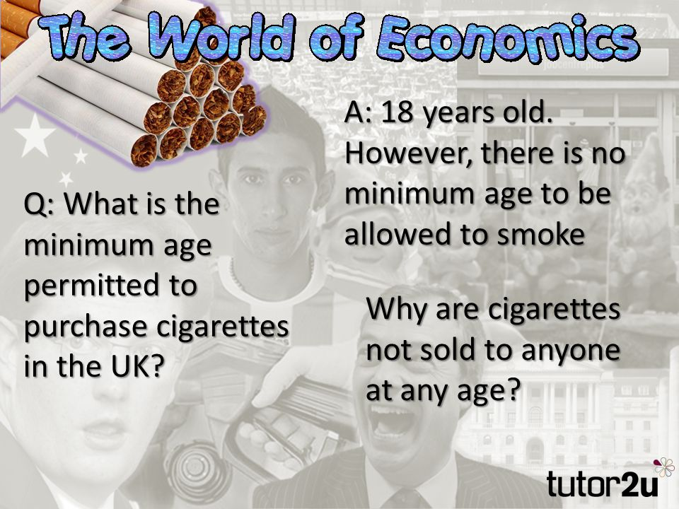 Q: What is the minimum age permitted to purchase cigarettes in the UK.