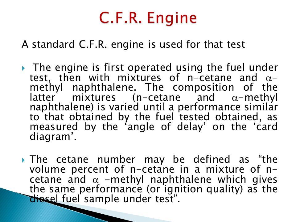 A standard C.F.R.