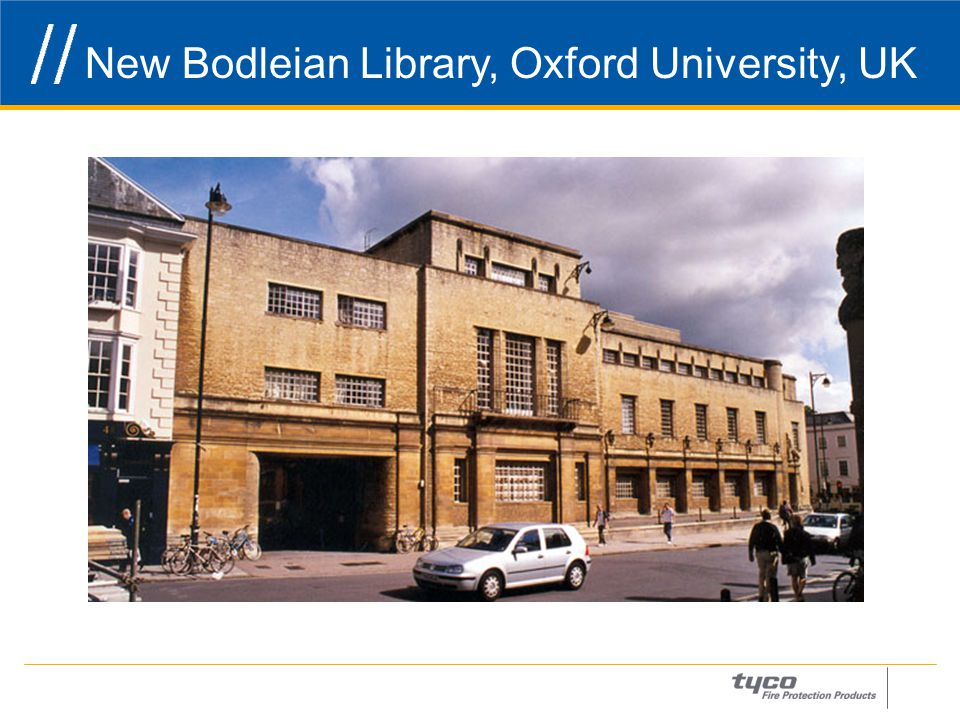 New Bodleian Library, Oxford University, UK 2