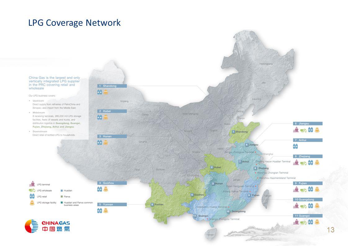 13 LPG Coverage Network