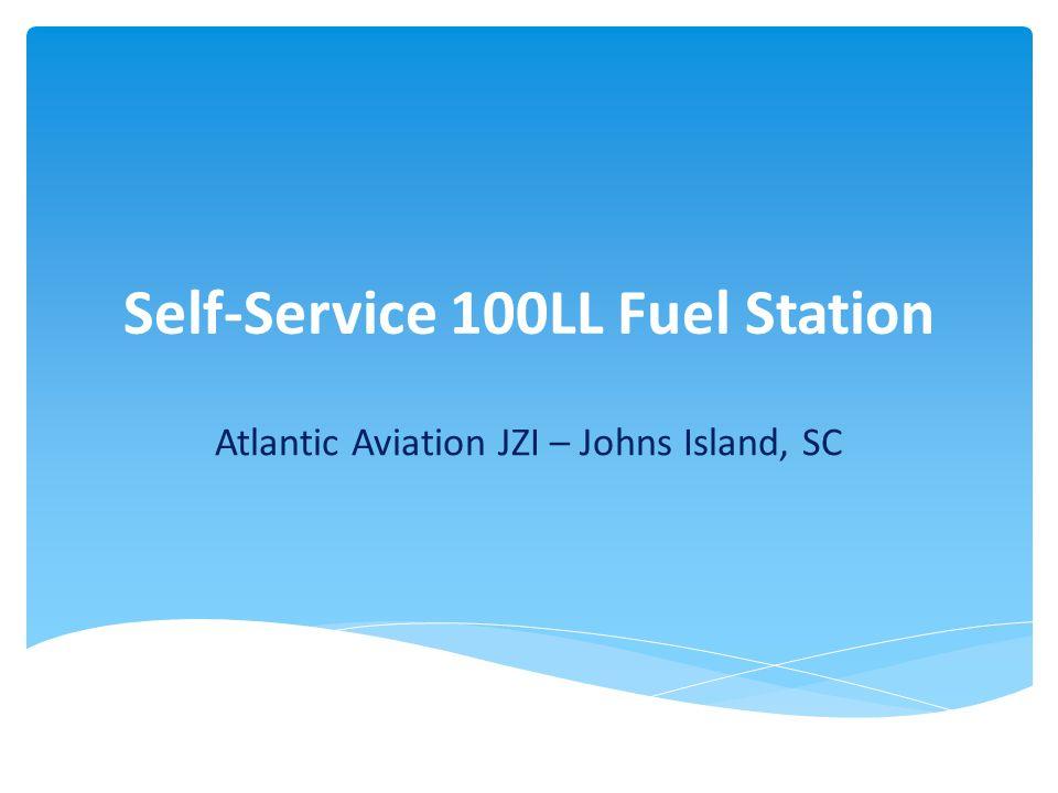 Self-Service 100LL Fuel Station Atlantic Aviation JZI – Johns Island, SC