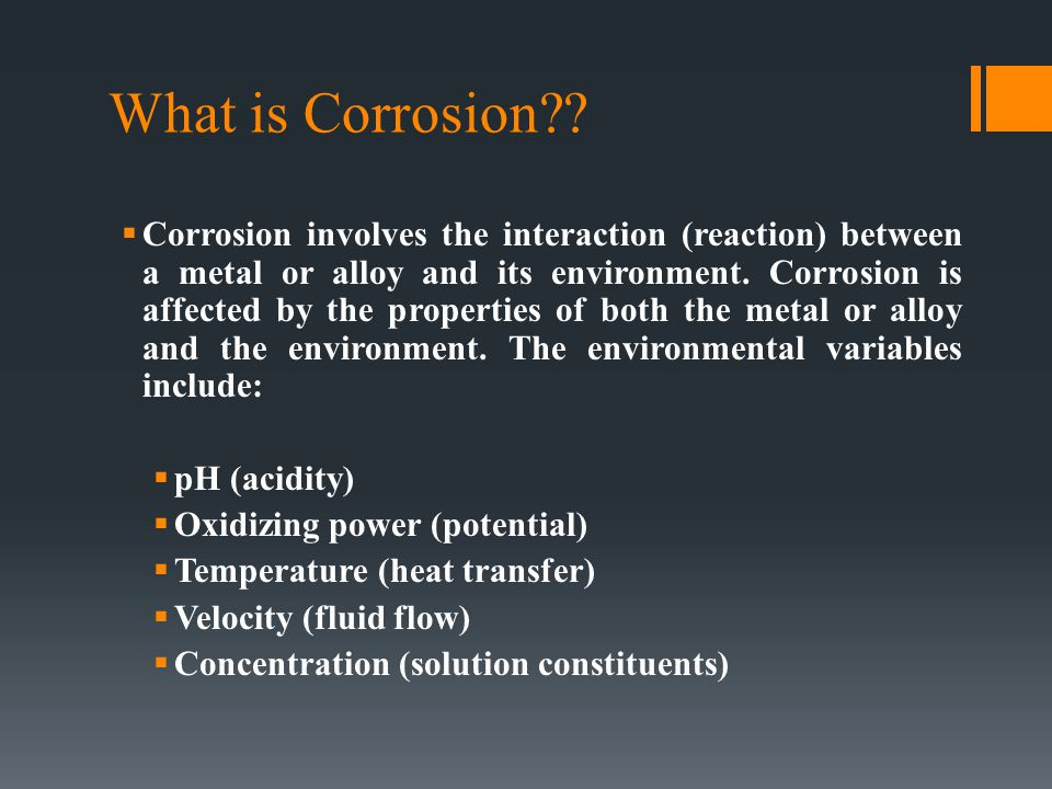 What is Corrosion?.