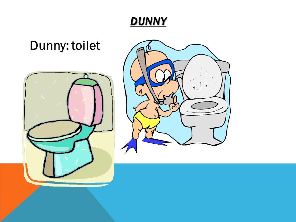 DUNNY Dunny: toilet