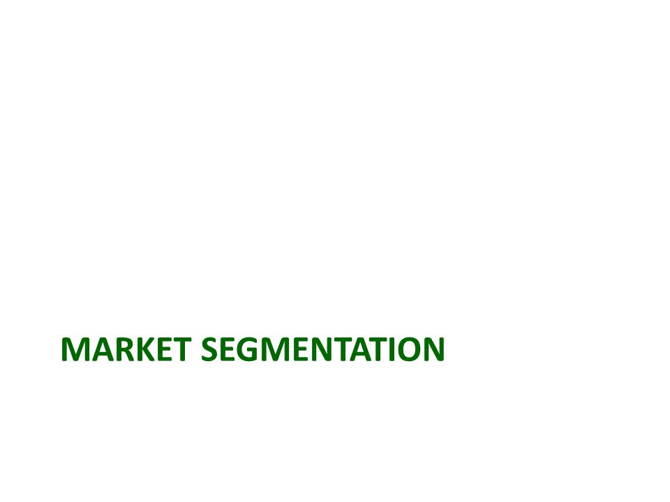 Market Segmentation Geographic segmentation  Dividing a market into different geographical units such as nations, provinces, regions, parishes, cities, or neighborhoods.