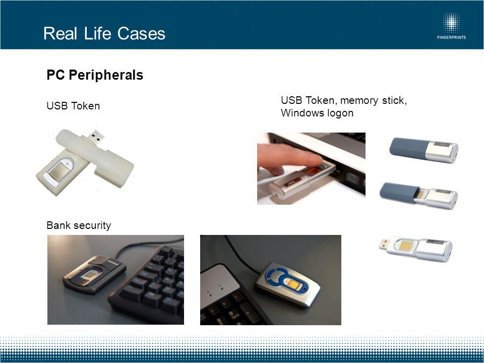 PC Peripherals USB Token Bank security Real Life Cases USB Token, memory stick, Windows logon